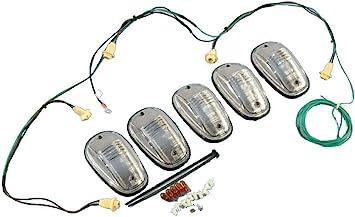 amazon.com: dodge ram 1500 2500 3500 roof cab clearance lamps light kit  mopar oem: automotive  amazon.com