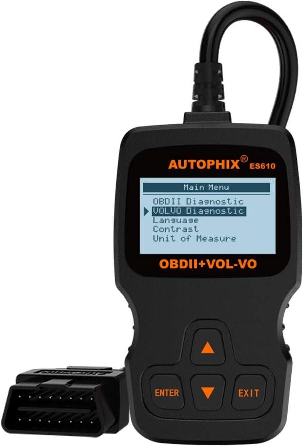 Wireless OBD2 Code Reader for Volvo V70 Scanner Engine Light Clear ...