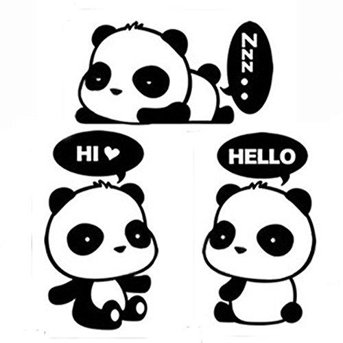 Panda Vinyl (Cute Sleeping Dreaming Panda,Panda Hi,Panda Hello - MacBook Air 11