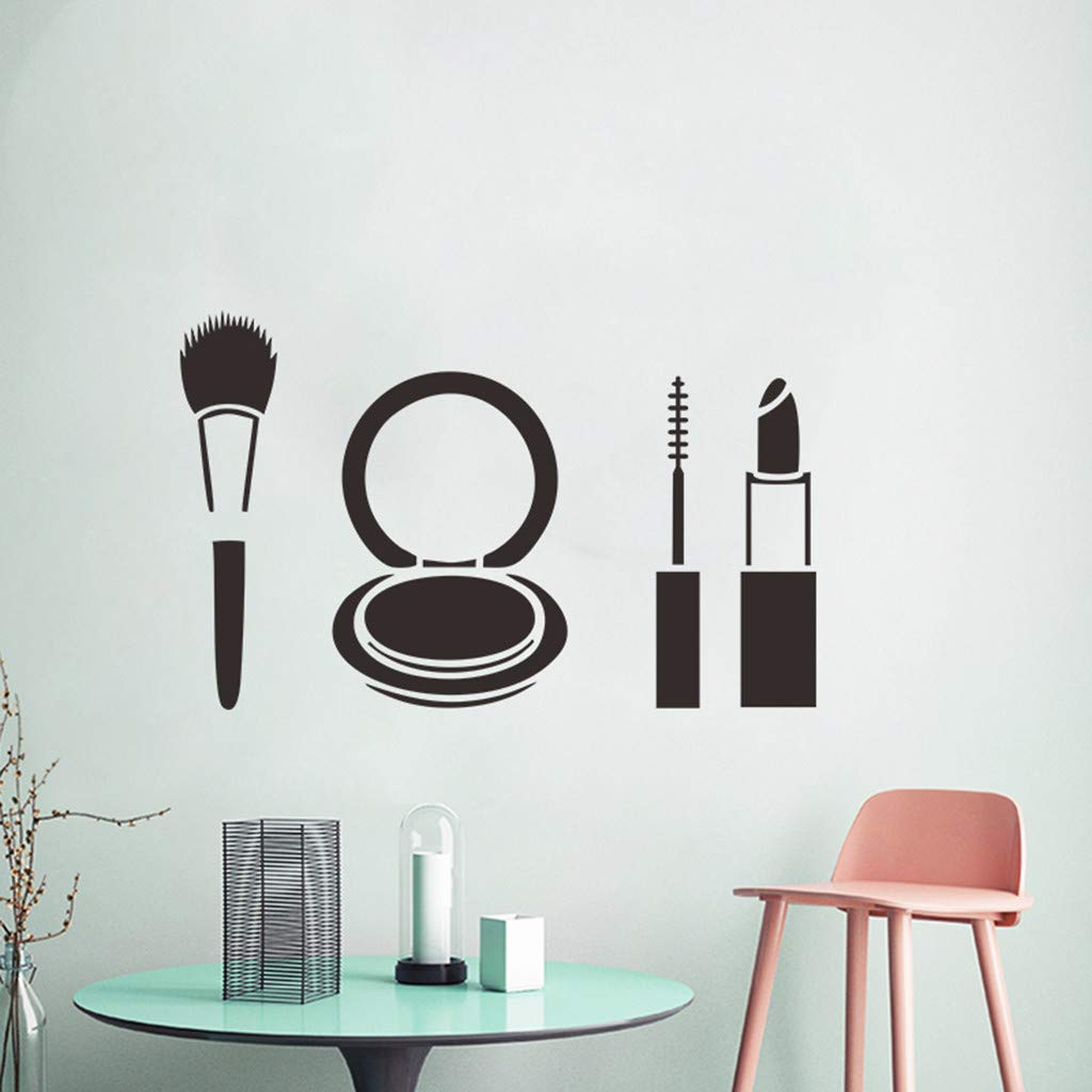 Amazon com clearance saledeeseetm💚💚wall decor sticker decal fashion lipstick makeup girl face popular woman health personal care