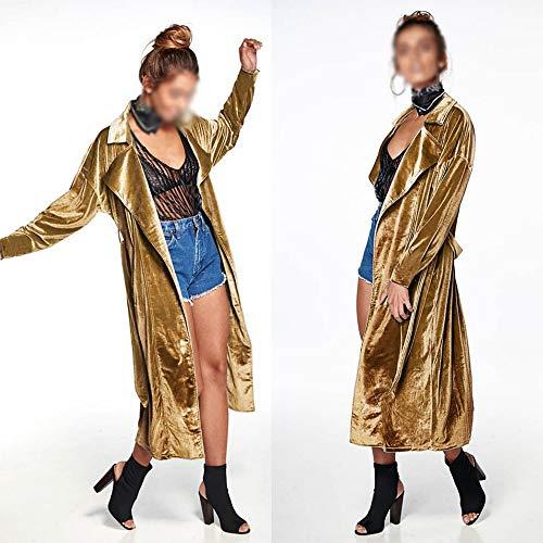 Cardigan Vitila Le Vent Sur Long Kaki Coupe Rivet Femme U5xxwq6H