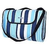 SONGMICS Outdoor Waterproof Picnic Blanket Beach Blanket 77' X 59'