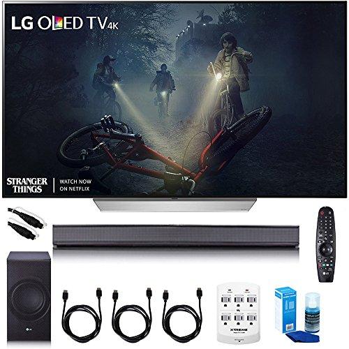 "Price comparison product image LG 55"" C7P OLED 4K HDR Smart TV - OLED55C7P w / LGSJ8 Sound Bar Bundle"