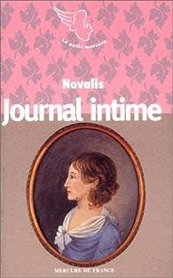 Journal intime par  Novalis