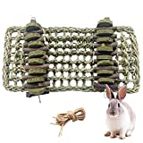 kathson Bunny Chew Toys for Teeth Grinding,Rabbit