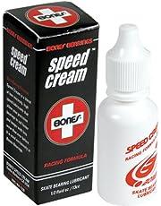 Bones Bearings Unisex - volwassenen kogellagers Speed Cream 1/2 oz reinigingsmiddel, transparant, één maat