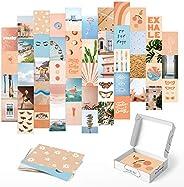 Paquete de 30 imágenes para decoración de pared de melocotón, 10 x 15 cm