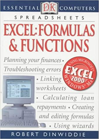 Excel Formulas and Functions (Essential Computers): Robert ...