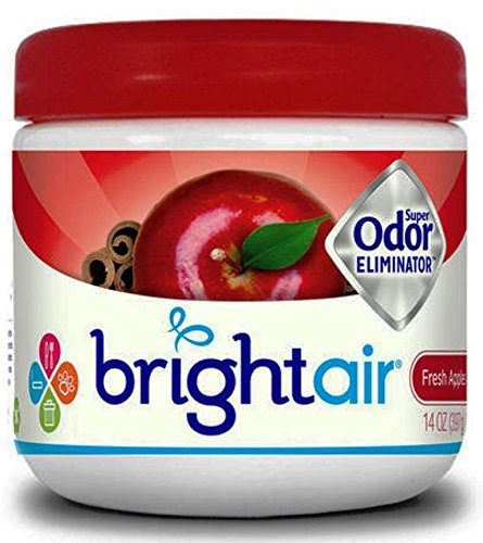 Bright Air Super Odor Eliminator - Fresh Apples and Spice, 14 Oz (Pack of 3)