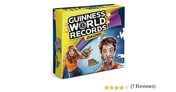 Rocco Giocattoli 21191744 Guinness World Records Challenges - Juego de Cartas (en francés): Amazon.es: Juguetes y juegos