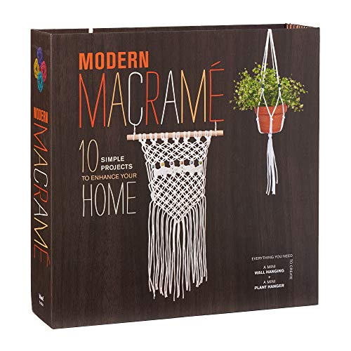 Modern Macrame: 10 Simple Projects to Enhance Your Home -