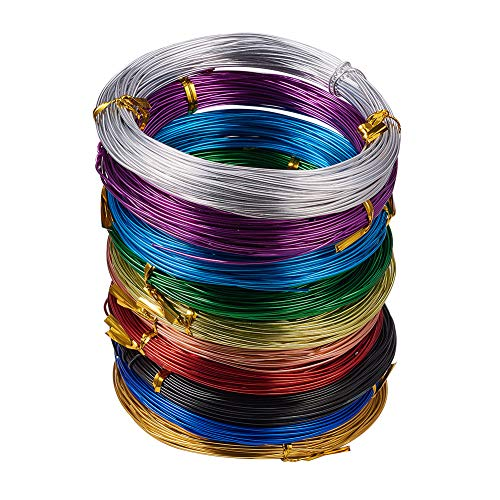 10 Rolls Aluminum Craft Wire 18 Gauge