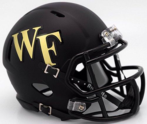 Riddell WAKE FOREST DEMON DEACONS NCAA Revolution SPEED Mini Football Helmet (Wake Forest Mini)