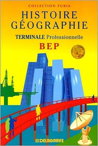 Livre Histoire géographie, BEP, terminale professionnelle epub, pdf