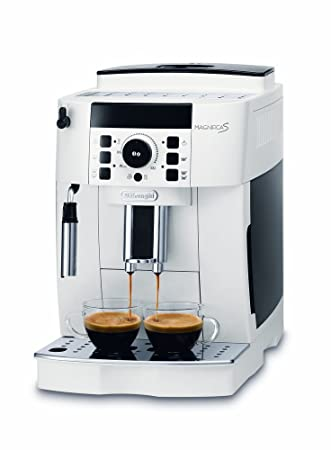 DeLonghi ECAM 21.110.W Cafetera automática, 1450 W, 1.8 litros, plástico, Blanco: Amazon.es: Hogar