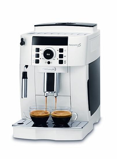 DeLonghi ECAM 21.110.W Cafetera automática, 1450 W, 1.8 litros, Blanco: Amazon.es: Hogar