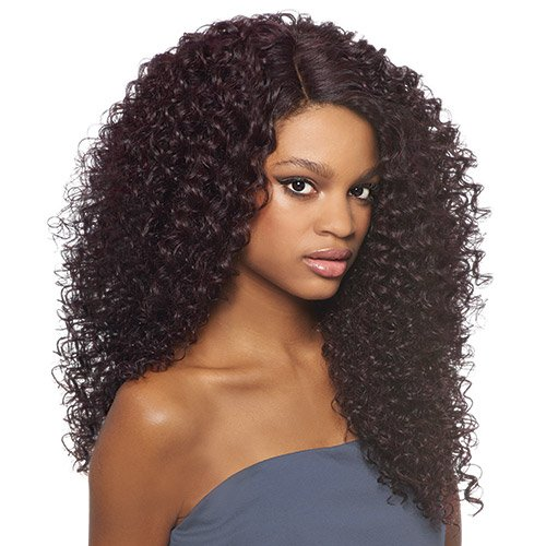 Outre Synthetic Lace Front Wig L Part Batik Dominican Curly -