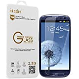 iAnder Premium Tempered Glass Screen Protector for Samsung Galaxy S3 - Screen Protector for Samsung Galaxy S3