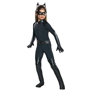 Amazon.com: onceuponasale Catwoman disfraz niñas Med 8 – 10 ...