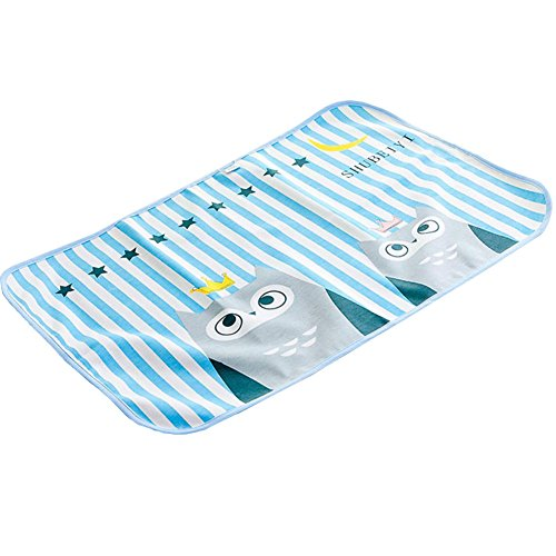 Cute Waterproof Breathable Infant Crib Sheet Baby Mat 120x70