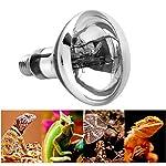 STTQYB UVB Pet Light Full Spectrum UVA + UVB Sun Lamp for Reptile and Amphibian,UVB Light and UVA 2-in-1 Reptile Bulb 100W UVA UVB Mercury Vapor Light for Reptile …