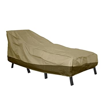 patio armor chaise lounge cover 76quot l x 28quot w x 30quot h amazon patio furniture covers