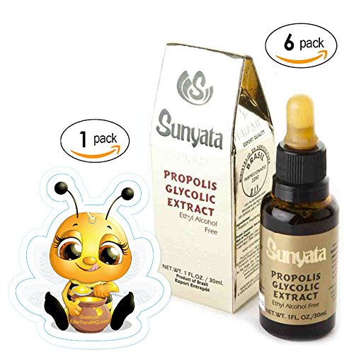 Brazilian Green Propolis Sunyata FDA Registered (6) Bundle 1 pack Bee Freshener free shipping