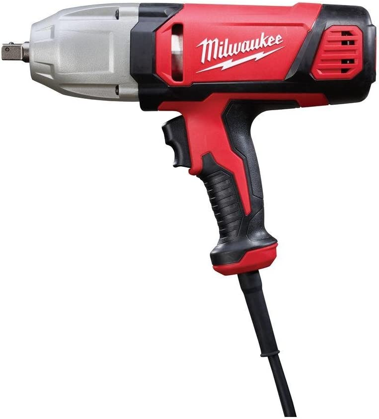 Milwaukee 9070-20 1 2-Inch Impact Wrench with Rocker Switch and Detent Pin Socket Retention
