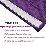 Volecy Refrigerator Handle Covers, Handmade Cloth