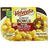Velveeta Cheesy Bowls, Bacon Mac and Cheese, 9 Ounce (Pack of 6)