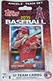 2015 Topps Los Angeles Angels of Anaheim Factory Sealed Special Edition 17 Card Team Set with Mike Trout Albert Pujols Plus
