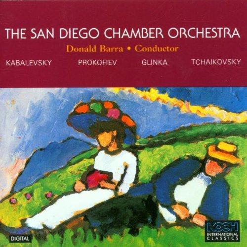 The San Diego Chamber Orchestra: Kabalevsky, Prokofiev, Glinka, - En San Outlets Diego