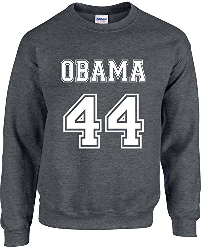 President Barack Obama Adult Unisex Novelty Crewneck Sweatshirt (Obama 44)