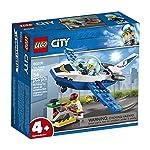 City-Lego-4-Sky-Police-Jet-Patrouille-60206-Kit-di-montaggio-54-pezzi