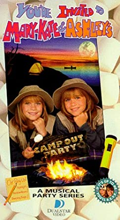 Amazon Com You Re Invited To Mary Kate Ashley S Camp Out Party