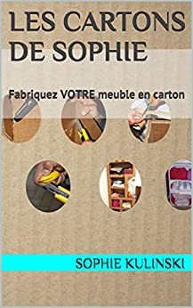les cartons de sophie fabriquez votre meuble en carton les bases du cartonnage. Black Bedroom Furniture Sets. Home Design Ideas