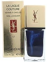 Yves Saint Laurent LA LAQUE COUTURE Nail Lacquer 17 Blue Cobalt 0.34 oz