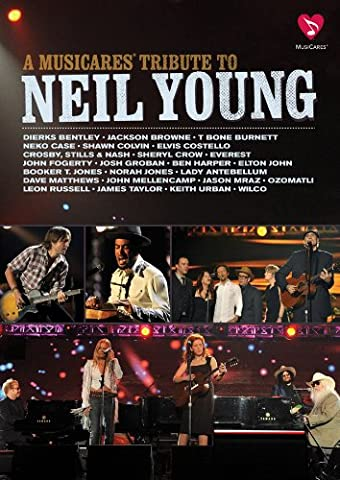 MusiCares Tribute to Neil Young (James Taylor Concert Dvd)