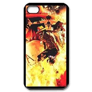 iPhone 4,4S Phone Case Black One Piece F6535735