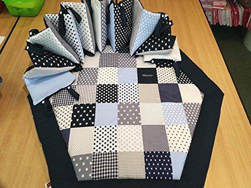 6eck Laufgitter Babydecke, Kuscheldecke, Spieldecke, mit oder ohne Nestchen