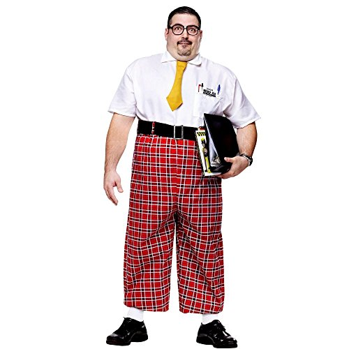 Nerd Costume - Plus Size - Chest Size 48-53
