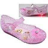 [ディズニー] 7357 光る靴 プリンセス ガラスの靴 キッズシューズ 子供靴