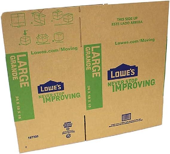 "10 Moving Storage Cardboard Boxes 24.5 x 12.5 x 8.5/"" DW"
