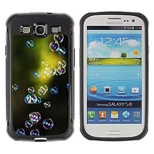 """Pulsar iFace Series Tpu silicona Carcasa Funda Case para Samsung Galaxy S3 III I9300 , Green Nature Reflexión Reflexivo"""""""