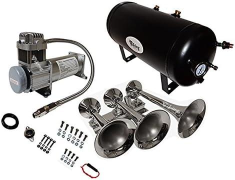 Viking Horns V103C-5//307 Loud Train Air Horn Kit