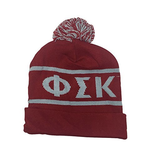 Phi Sigma Kappa Fraternity Letter Winter Beanie Hat Greek Cold Weather Winter psk - Kappa Beanie