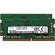 "Apple Genuine Samsung Original 16GB (2x8GB) Memory Upgrade for 2017 Apple iMac 27"" Retina 5K Display DDR4 2400Mhz PC4-19200 SODIMM 1Rx8 CL17 1.2v Single Rank RAM DRAM Adamanta"