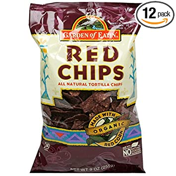 Amazoncom Garden of Eatin Tortilla Chips Red Tortilla Chips 9