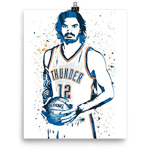 Steven Adams Oklahoma City Thunder Poster