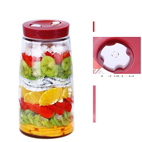 Termómetro sellado tanque Escape Fruta] Botellas de enzimas ...